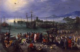 Brueghel, Harbor Scene